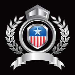patriot shield silver royal display