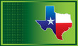 texas state green checkered background