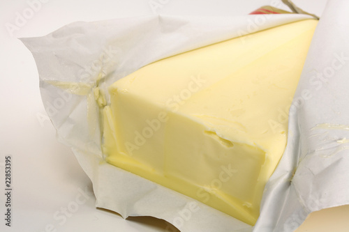 Poster Butter in Verpackung