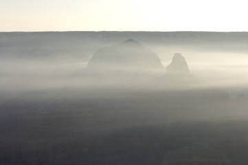 Hills in Grand Canyon