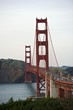 Curve of the Golden Gate Bridge, view to Marin County