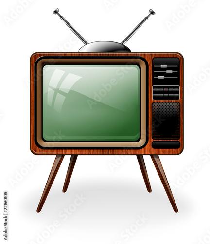 Stara ilustracja TV
