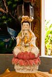 Guan Yin Goddess Statue poster