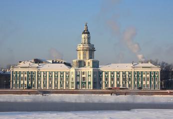 Kunstkamera in Saint-Petersburg