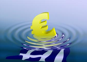Euro geht baden
