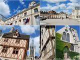 Les lieux de tourisme à Dijon poster