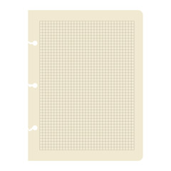 Vector. paper sheet.