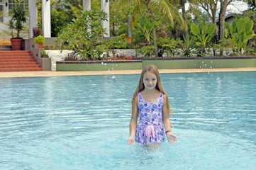 Princess Elena. The most beautiful schoolgirl of Borneo.