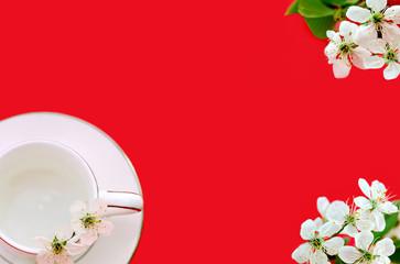 tea menu - red card