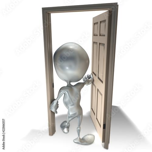 Elliott 047 porte ouvrir entrer sortir fermer dos for Ouvrir une porte avec radio