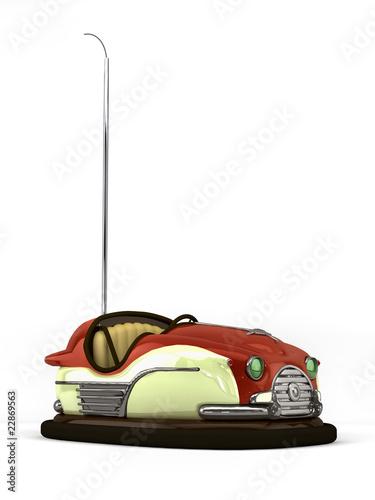 classic scooter auf weiß - 22869563