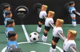 Soccer ball, team poster