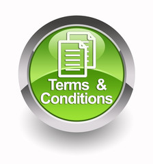 ''Terms & Conditions'' glossy icon