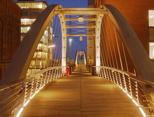 Hamburg Speicherstadt Brücke