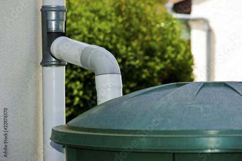 récupérateur d'eau de pluie - 22876370