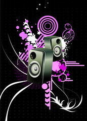 Speakers vector composition