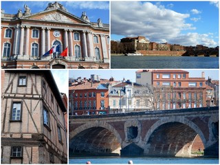 Une visite dans Toulouse