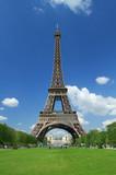 Tour Eiffel dai giardini poster