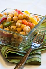 Chick peas salad