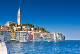 Fototapety Rovinj old town in Croatia, Adriatic coast, HDR image