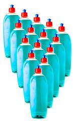 new full soap bottle