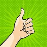Fototapety Thumb up