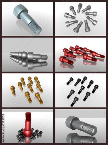 Schrauben Metall