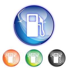 Picto essence - Icon petrol pump - collection color