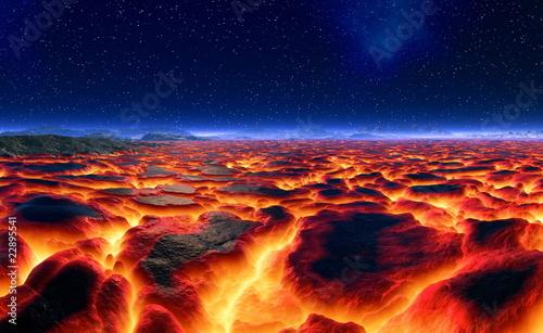 Leinwandbilder,glühen sie,brennen,vulkan,eschbach