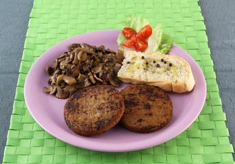 Hamburger di Soia e Champignon