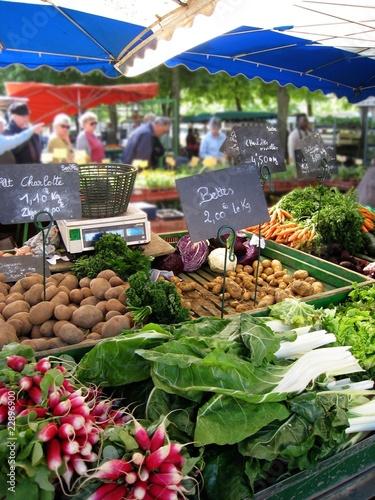 Fototapete Lebensmittel im Laden - Einkaufen - Wandtattoos - Fotoposter - Aufkleber