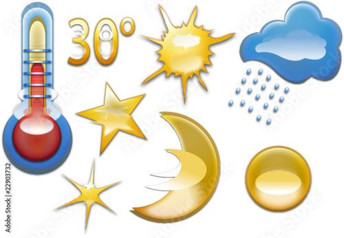 Wetter symbole