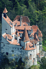 Dracula's castle located in Bran, Transylvania