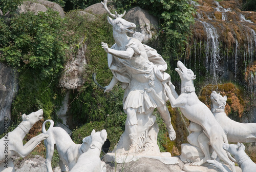 Fountain of Diana and Actaeon in  the Royal Palace of Caserta