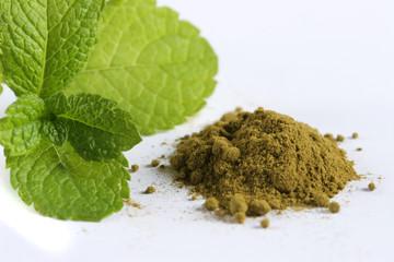 stevia en poudre sucre naturel édulcorant