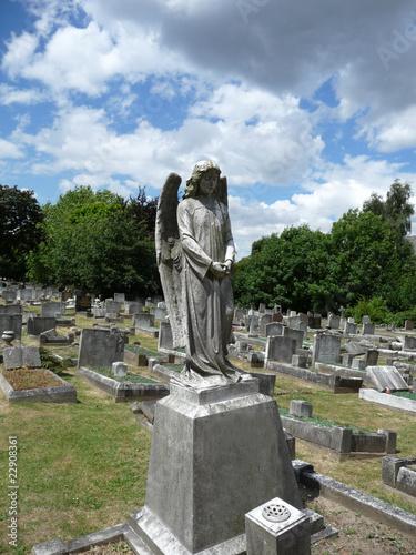 Keuken foto achterwand Olijf Graveyard Angel