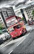 Fototapete Londoner - Grossbritannien - Bus
