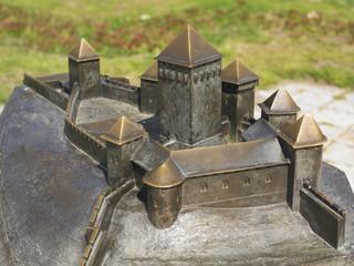 Belgrade fortress model on Kalemegdan, Serbia