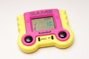 lcd game spiel basketball