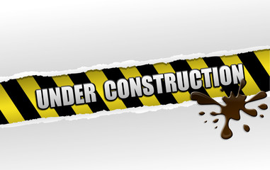 Ripped under construction page