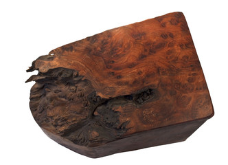 Burl Wood Box