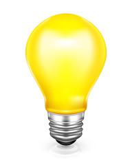 Light bulb, vector icon