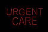 Urgent Care Medical Sign poster