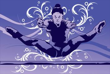 The Graceful Gymnast