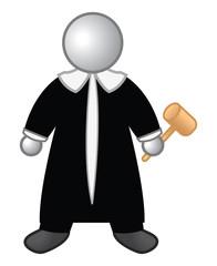 judge glossy