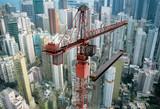 Fototapete Hong kong - Wolkenkratzer - Außen
