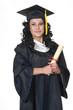 Graduate on White