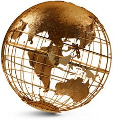 Eastern Hemisphere Globe