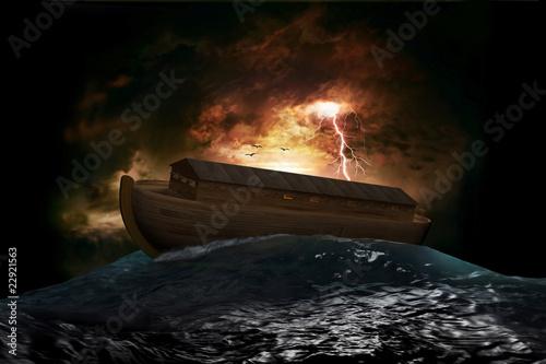 Leinwandbild Motiv Noah's Ark