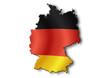 Cartina Germania